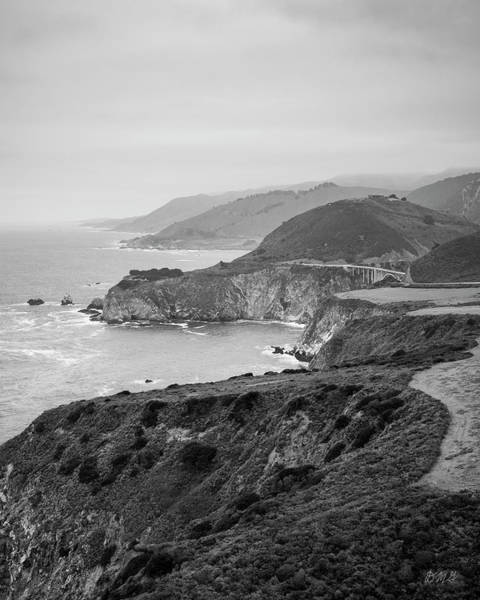 Photograph - Big Sur Coast Vii Bw by David Gordon