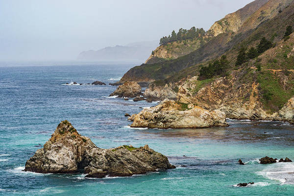 Photograph - Big Sur Coast Iv Color by David Gordon
