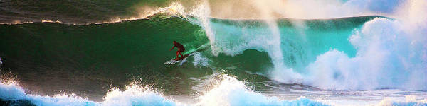 Photograph - Big Wave Drop In by Anthony Jones