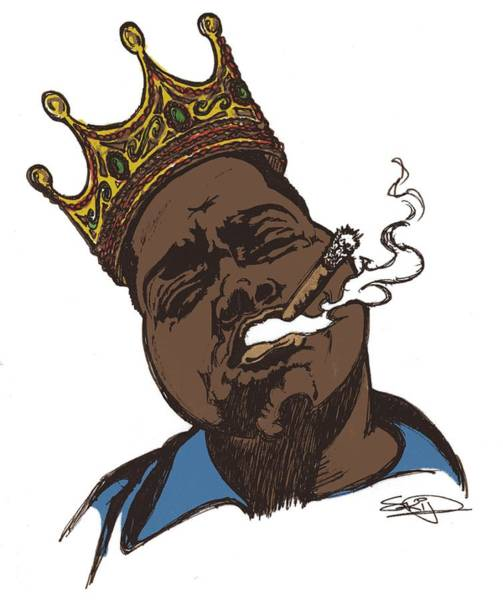 Fall Flowers Drawing - Biggie 2 by SKIP Smith