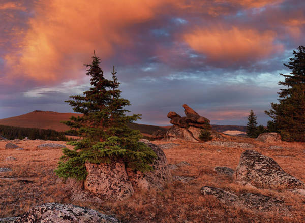 Photograph - Bighorn Mountains Sunrise by Leland D Howard