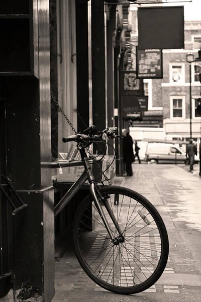 Wall Art - Photograph - Bike & Books by Kandelfire