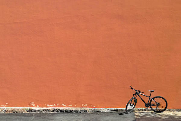 Wall Art - Photograph - Bike And Wall by Risto Lavi