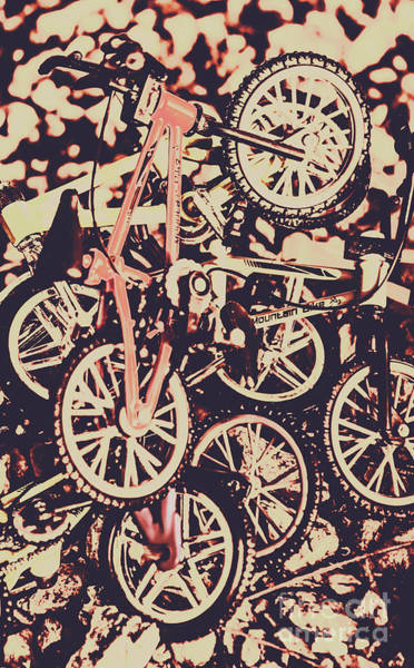 Wall Art - Photograph - Bike Mountain by Jorgo Photography - Wall Art Gallery