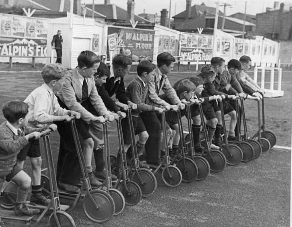 Wall Art - Photograph - Bike Races by Fox Photos
