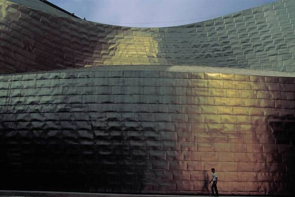 Bilbao Photograph - Bilbao Guggenheim Museum Detail Of The by Carlos De Andres