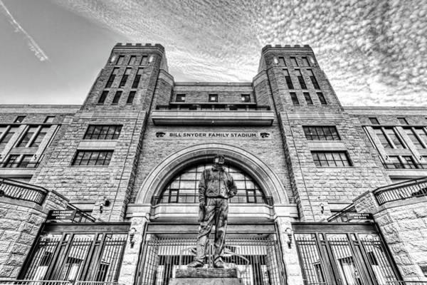 Kansas State University Photograph - Bill Snyder Family Stadium by Corey Cassaw