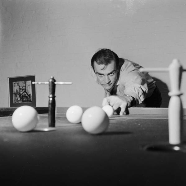 Concentration Wall Art - Photograph - Billiard Bond by Chris Ware