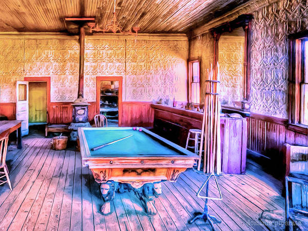 Wall Art - Painting - Billiard Hall by Dominic Piperata