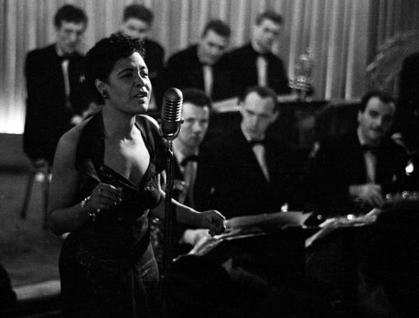 Photograph - Billie Holiday by Charles Hewitt