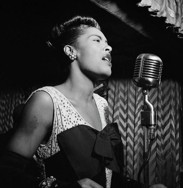 Wall Art - Photograph - Billie Holiday - Harlem 1947 by Daniel Hagerman