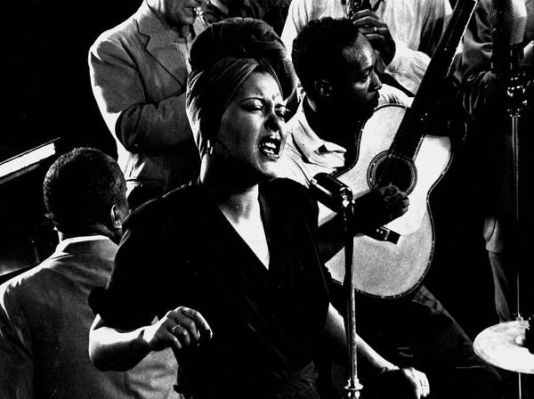 Photograph - Billie Holidayjames P. Johnson by Gjon Mili