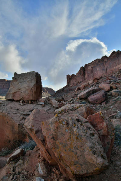 Photograph - Billowing Clouds Over Utah 313 by Ray Mathis