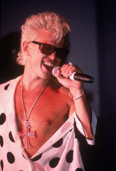Bleached Photograph - Billy Idol by Archive Photos