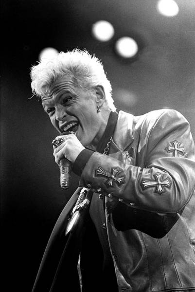 Photograph - Billy Idol by Martyn Goodacre