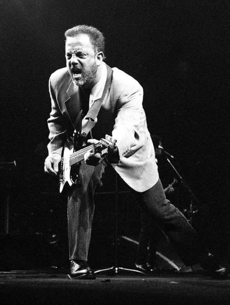 Madison Square Garden Photograph - Billy Joel During A Performance At by New York Daily News Archive