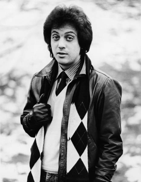 Pop Music Photograph - Billy Joel by Express Newspapers