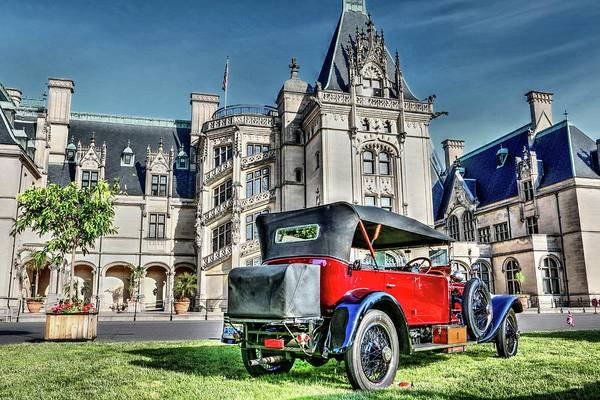 Photograph - Biltmore And Antique Rolls-royce by Carol Montoya