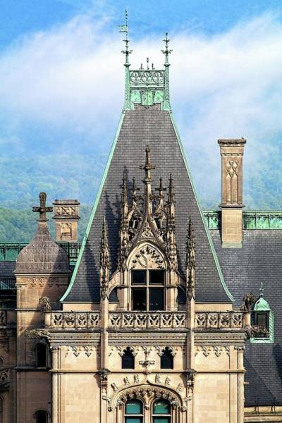 Photograph - Biltmore Architectural Detail  by Carol Montoya
