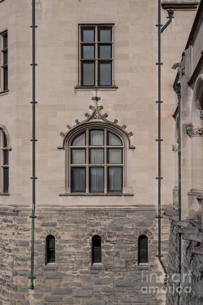 Photograph - Biltmore Estate - Windows by Dale Powell