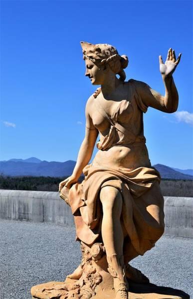 Wall Art - Photograph - Biltmore Gardens Statue Beauty  by Warren Thompson