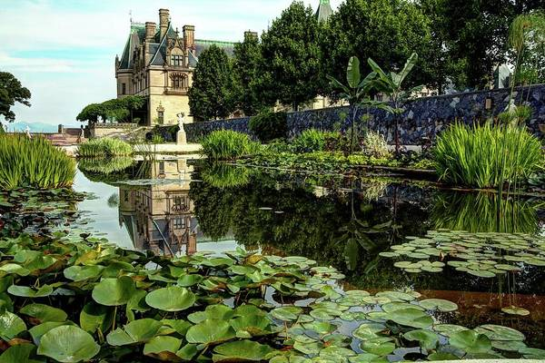 Photograph - Biltmore Reflection In The Italian Gardens by Carol Montoya