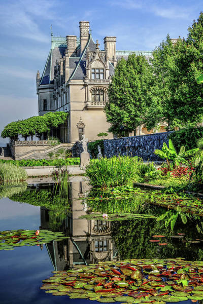 Photograph - Biltmore Reflection In The Italian Gardens II by Carol Montoya