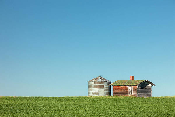 Wall Art - Photograph - Bin And Shed by Todd Klassy
