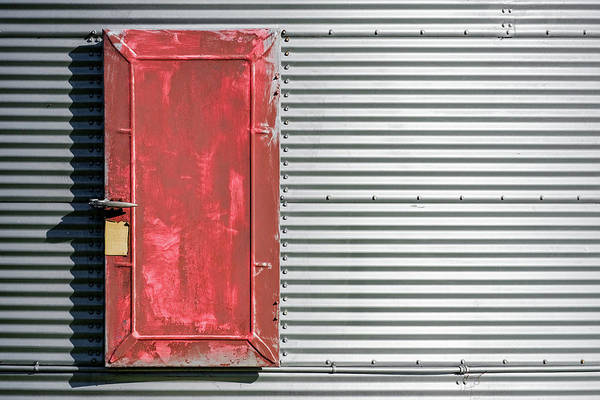 Wall Art - Photograph - Bin Door by Todd Klassy