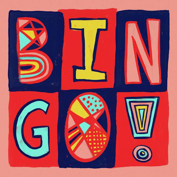 Mixed Media - Bingo by Jen Montgomery
