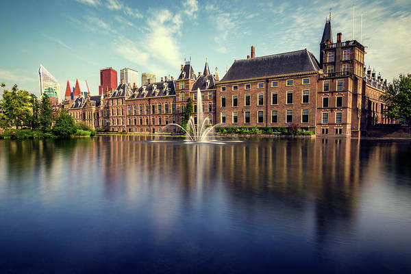 Holland State Park Photograph - Binnenhof, The Hague by Pablo Lopez