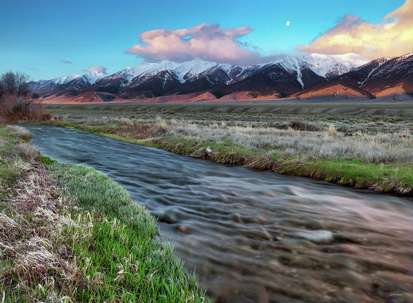Photograph - Birch Creek Sunrise by Leland D Howard