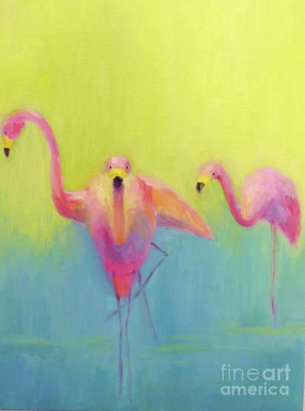 Wall Art - Painting - Birds In Paradise by Catherine Martzloff