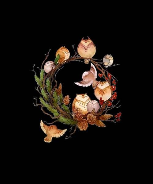Cajal Wall Art - Digital Art - Birds Nuts Rest Beautiful Cute Science by Harrison Horniman