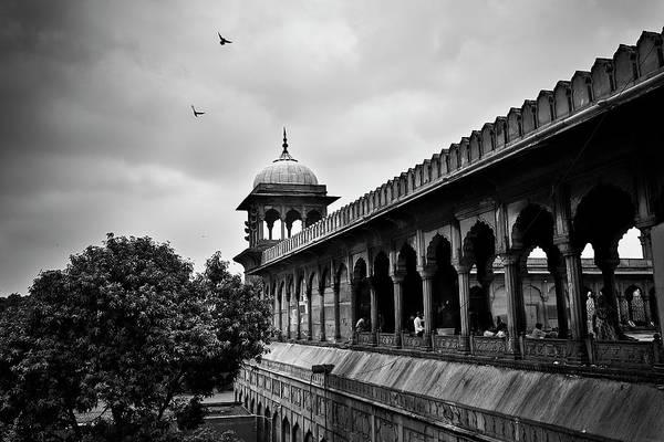 Birds Over The Jama Masjid Art Print