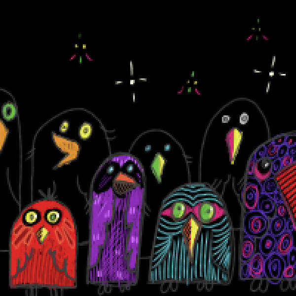 Digital Art - Birds by Thomas Olsen