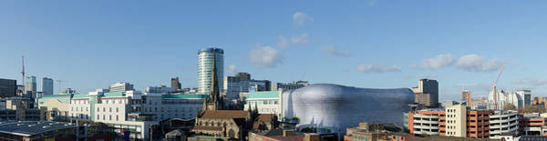 Parking Structure Photograph - Birmingham Skyline Panorama by Dynasoar
