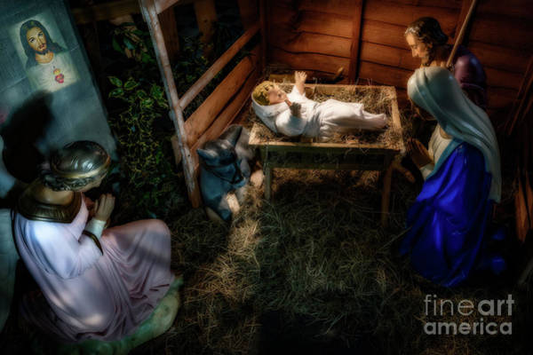 Wall Art - Photograph - Birth Of Jesus Christ by Adrian Evans