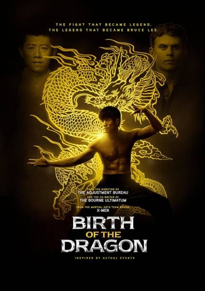 Birth Digital Art - Birth Of The Dragon Poster by Geek N Rock