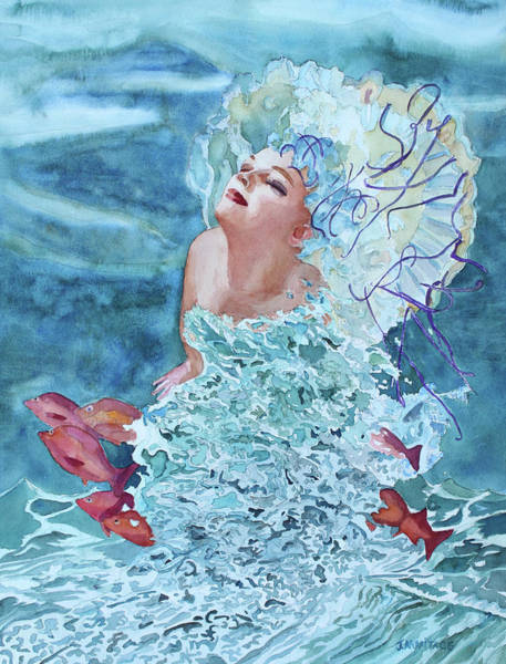 Painting - Birth Of Venus One by Jenny Armitage