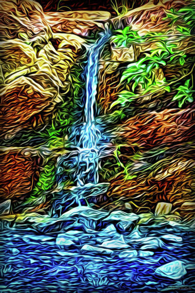 Digital Art - Birth Of Water by Joel Bruce Wallach