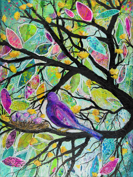 New Leaf Mixed Media - Birthing New Things by Terri Chaney
