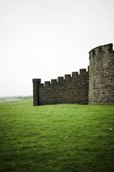 Fortified Wall Art - Photograph - Bishops Palace, Downhill Castle by Rune Johansen