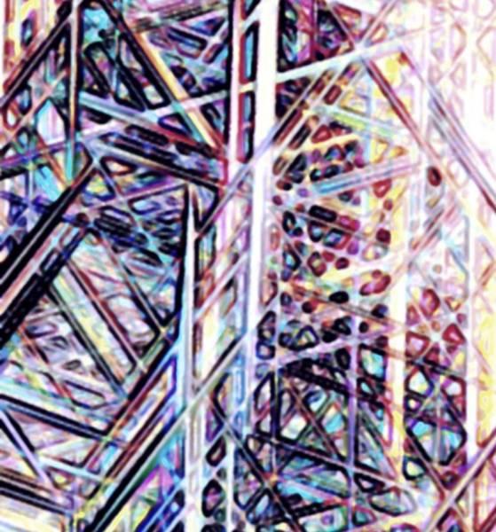 Digital Art - Bismuth by Ajp