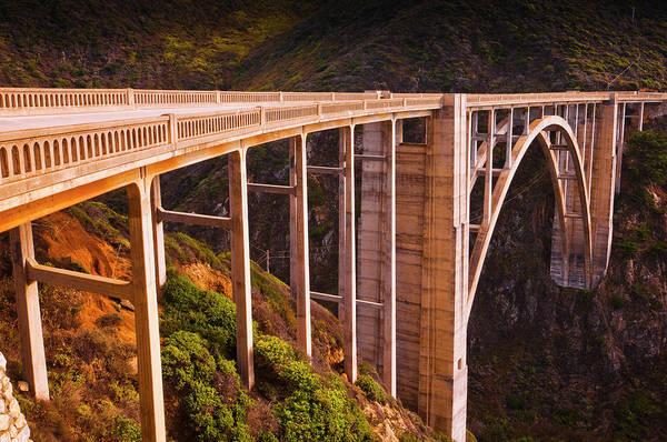 Monterey Bay Photograph - Bixby Bridge, Big Sur, California, Usa by Russ Bishop