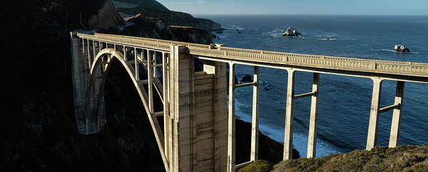 Wall Art - Photograph - Bixby Bridge California Panorama by Steve Gadomski