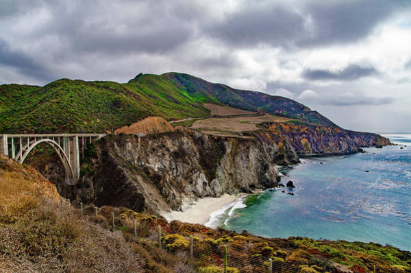 Wall Art - Photograph - Bixby Creek Bridge - Big Sur California by Bill Cannon