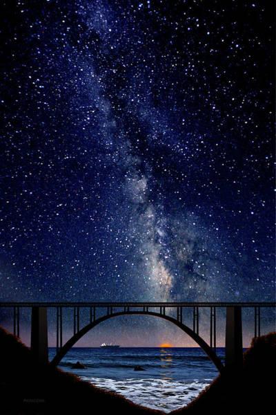 Painting - Bixby Creek Bridge, Big Sur, California by David Arrigoni