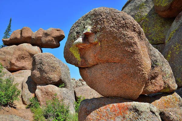 Photograph - Bizarre Boulders Of Vedauwoo Rocks by Ray Mathis