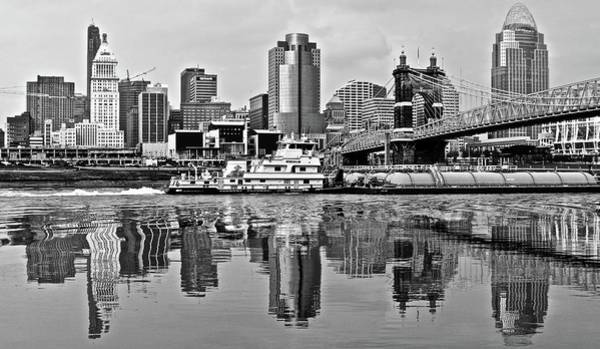 Wall Art - Photograph - Black And Monochrome Cinci by Frozen in Time Fine Art Photography